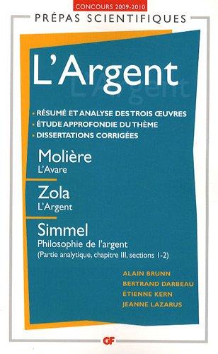 L'Argent : Concours 2009-2010