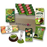 Japanese Matcha Green Tea Sweets and Snacks assortment gifts 7 pcs