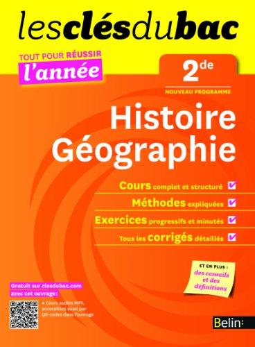 Cls du Bac - Histoire Gographie 2e - Russir l'anne