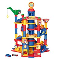 Wader Park Tower Playset With Cars - 7 Floors by Wader Quality Toys