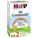 Hipp Milchnahrung  HA 2 Combiotik nach dem 6. Monat, 4er Pack (4 x 500 g Packung)