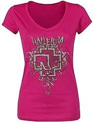 Rammstein Halleluja Girl-Shirt himbeere