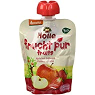 Holle Gourde Pomme Fraise 90 g BIO