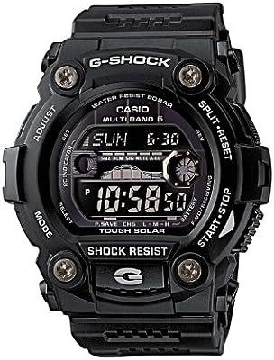 CASIO G-Shock GW-7900B-1ER - Reloj de caballero de cuarzo, correa de resina (con radio, cronómetro, luz)