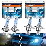 Osram Cool Blue Intense Set H7 55W + H4 60/55W 12V Xenon Look Blau
