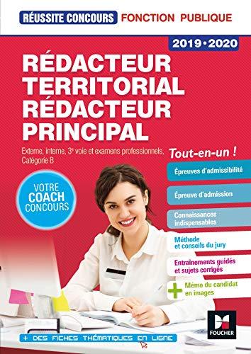 Réussite Concours - Rédacteur territorial/Rédacteur principal - 2019-2020 - Préparation complète par Bruno Rapatout
