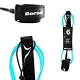 Dorsal Premium Surfboard 6, 7, 8, 9, 10 FT Surf Leash - Blue 6 FT FCS Style / Blue