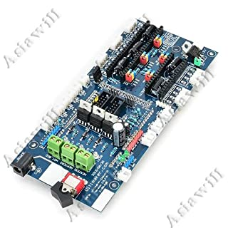Asiawill 3D Drucker Fernbedienung kompatibel Board DIY für Kunstdruck EW Rampen Ultimaker PCB Dual Bausatz
