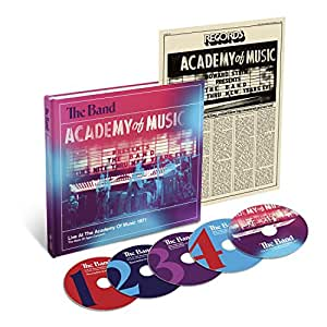 Live at the Academy of Music 1971 (4 CDs + 1 DVD)