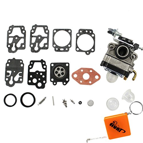 HURI Carburateur avec Carb Reparation Membrane Joint pour Moteur Honda GX22 GX31 Coupe-bordure Débroussailleuse HHE31C HHT31S UMK431 UMK431K1