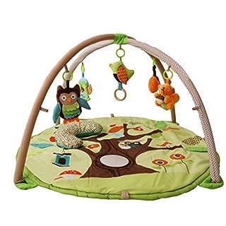 ACMEDE Baby Krabbeldecke Spieldecke mit Spielbogen Activity Gym