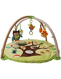 acmede–Alfombra de gateo bebé Musical y juguete suave grueso para jugar ramper exterior–Modelo de Animal