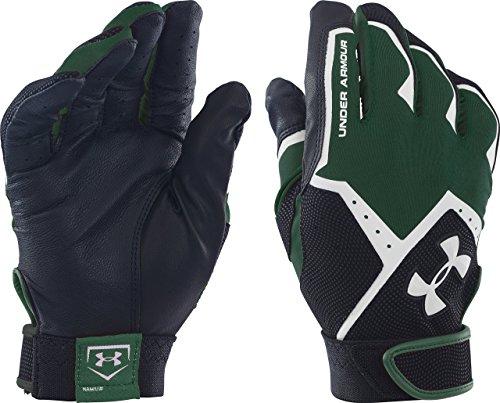 Under Armour Herren Aufräumen VI Batting Handschuhe, Herren, Forest Green/Black, XXL