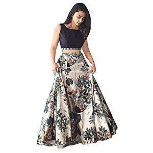 Ocean Dream Women's Silk Lehenga Choli