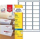 Avery Zweckform J8160-10 Adress-Etiketten (Papier matt, 210 Stück, 63,5 x 38,1 mm) 10 Blatt weiß