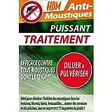 HBM Anti-Moustiques 001-ds-rac008Trattamento Spray Anti Zanzare 100ml
