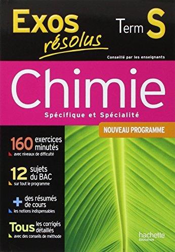 Chimie Tle S spcifique et spcialit : Nouveau programme by Jean-Pierre Durandeau (2012-08-22)
