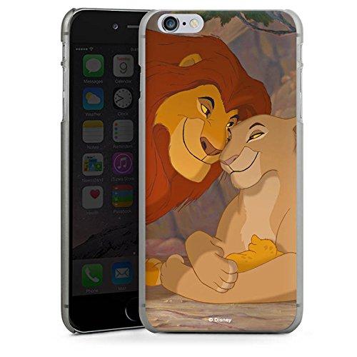 Apple iPhone 7 Plus Hülle Case Handyhülle Disney König der Löwen Fanartikel Merchandise Hard Case anthrazit-klar
