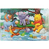 Tickles Wooden Cartoon Puzzles Set 204 Pieces Jigsaw Puzzle Educational Game