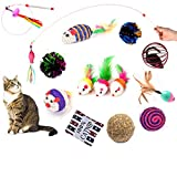 Best Kitten Toys - BESTIM INCUK Cat Toys Variety Pack 14 Pieces Review