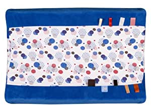 Snooze Baby Organic Happy Days Changing Mat Cover (Blue)