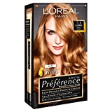 3 x L'Oreal Paris Recital Preference Permanent Colour 7.3 Florida Honey Blonde