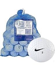 NIKE One Plus Sac 48AAA recyclé de balles de golf–blanc, taille unique