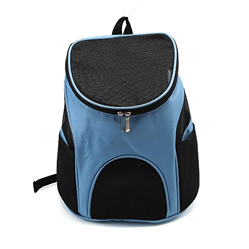 Yulan atmungsaktiv Messenger Folding Pet Bag Pet Rucksack Cat Bag Pet Bag Out Tragetasche Rucksack (Überprüfen Messenger)