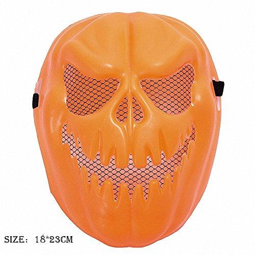 huici Gruselige Kürbis Maske Halloween Dekorative Gesichtsmaske Terror Geist Party Vollgesichtsmaske Halloween Kostüme
