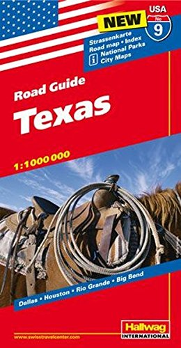 Preisvergleich Produktbild Hallwag USA Road Guide 09 Texas 1 : 1.000.000 (Hallwag Strassenkarten)