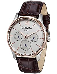 Valentino Rudy Watch For Men And Women VR6031 (Dial Color White, Band Color Brown) Italian Design Watches Best...