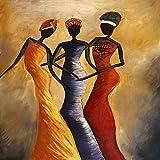 jiushice Porträt Von Vintage Afrikanische Frau Öl Auf Leinwand Poster Und Drucke Skandinavischen Leinwand Kunst Wandbild Für Wohnzimmer 1 60x90 cm