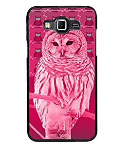 PrintDhaba Owl D-3258 Back Case Cover for SAMSUNG GALAXY GRAND MAX (Multi-Coloured)