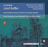 En Hommage à Józef Koffler : Portrait du compositeur. Brillembourg, Wnukowski, Slowinski.
