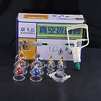 Kays Schröpfen Set 12 Tassen Set TCM Massage Schröpfen Therapie Set, Therapie-Set, Schröpfen Set, Vakuumpumpe... preisvergleich bei billige-tabletten.eu