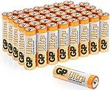 GP Batteries Ultra Alkaline Piles alcalines LR6AA 1,5V Blanc/jaune
