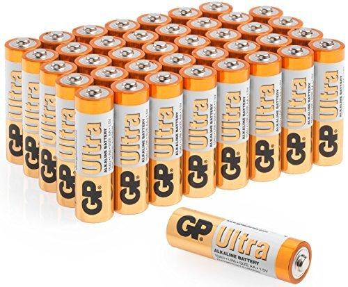 AA Batterien Party Pack 40-GP Ultra (Alkaline) Gp Ultra Alkaline Batterie