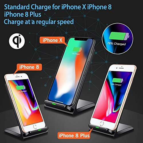 seneo wireless charger induktives qi ladeger t drahtlose. Black Bedroom Furniture Sets. Home Design Ideas