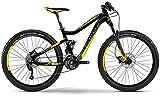 Haibike Q.XC 7.05 27, 5 Zoll Mountainbike Grau/Gelb/Schwarz Matt (2016), 50