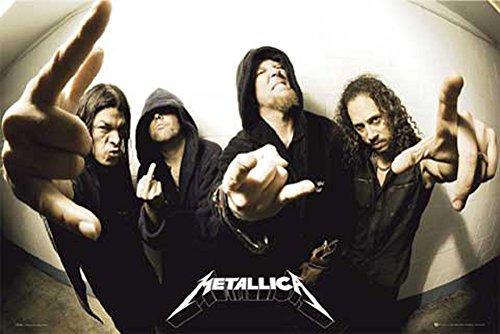 Metallica poster Fisheye + articolo aggiuntivo