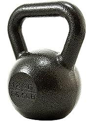 PROIRON Casting en fonte Kettlebell Poids pour Home Gym Fitness et musculation (4kg-24kg)