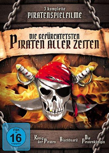 Bild von Die gefürchtesten Piraten aller Zeiten [3 DVDs]