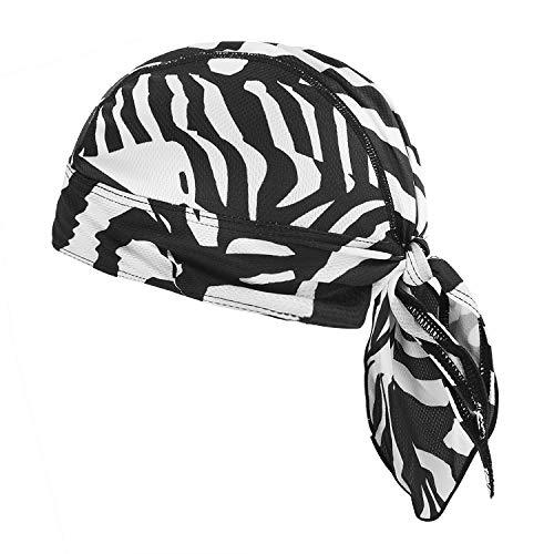 543ed6cb5defa7 Cycling Hat Men Women Sports Headwear Retro Bandana Quick Dry Skull Pirate  Sun Cap UV Protection Running Beanie Bike Motorcycle Magic Headband Youth  Under ...