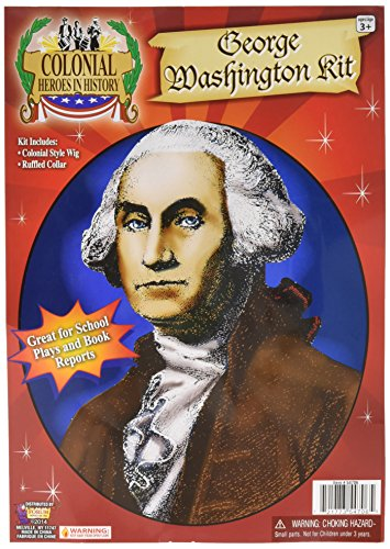 Hero in George Washington Accessory Kit - History - George Washington Accessory Kit Size Halloween Heroes In History:? One Size (japan ()