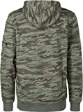 Alpha Industries Camo Print Hoodie Camouflage L
