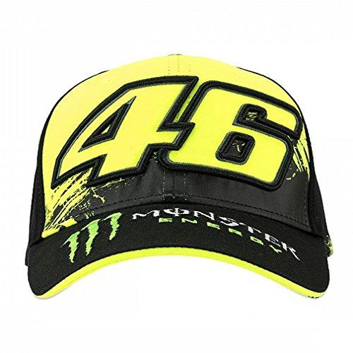 Valentino Rossi VR46 Moto GP Monster Energy Replica Deckel Offiziell 2018
