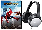 Spiderman - Homecoming ( incl Grey Sony - Over-ear Headphone MDR-XD150 ) Limited (1 DVD)