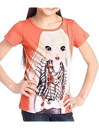 Top Model T-Shirt Nadja apricot