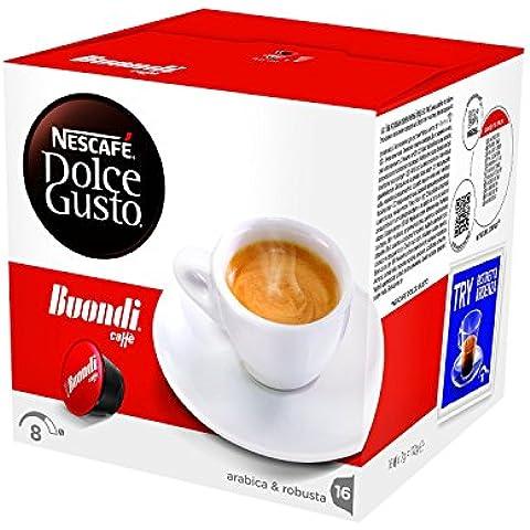 NESCAFÉ DOLCE GUSTO ESPRESSO BUONDI Caffè espresso 3 confezioni da