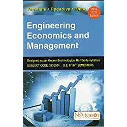 Engineering Economics And Management - Gtu Edition